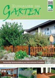 Hochwertige Gartenausstattung aus ... - Hausruckzaun.at