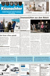 Innenansichten aus dem Réduit - Lokalinfo AG