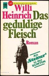 Willi Heinrich Das geduldige Fleisch