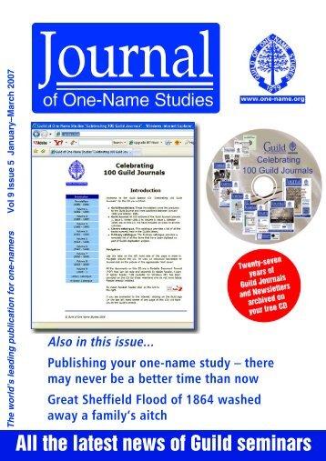 Books – Hunter One-Name Study