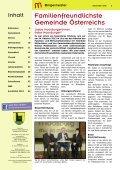 Gemeindezeitung Dezember 2013 ist online! - Marktgemeinde ... - Seite 2