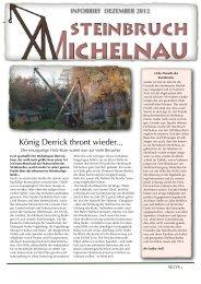Infobrief 2012 - steinbruch-michelnau.de