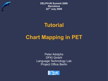Tutorial Chart Mapping in PET - DELPH-IN