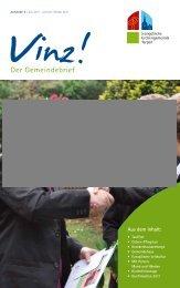 Vinz! Ausgabe 6 - Evangelische Kirchengemeinde Harpen