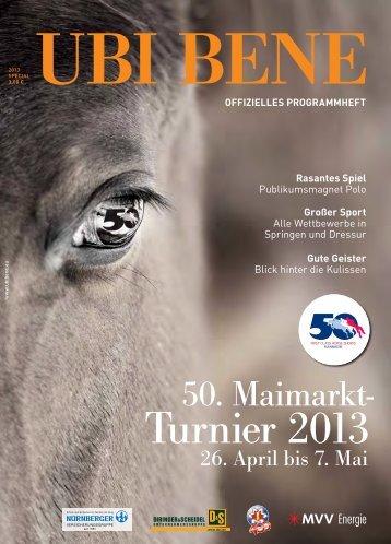 UBI BENE special 50. Maimarkt Reitturnier (PDF-Datei)