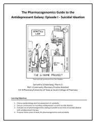 Episode I - Suicidal Ideation - The University of Texas at Austin