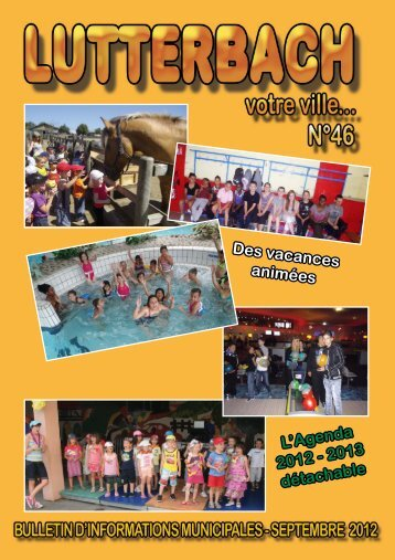 Bulletin municipal n°46 - Lutterbach