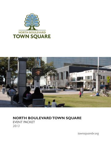 Download Event Rental Packet - North Boulevard Town Square
