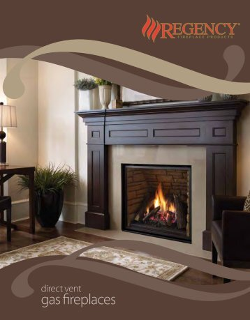 Traditional Gas Fireplaces - Regency Fireplace Products