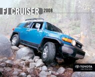 fj cruiser - Toyota Canada
