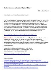 Duden Basiswissen Schule. Physik Abiturpdf ebooks von Lothar ...