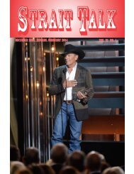 december 2013, january, february 2014 vol. 31 no. 4 ... - George Strait