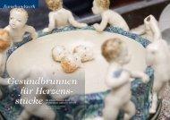 Gesundbrunnen für Herzens-stücke. - Porzellan Klinik Bremen