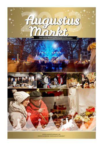 Der neue Weihnachtsmarkt in Dresden - Augustusmarkt