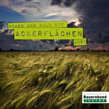 Ackerflächen - Bauernbund Jugend