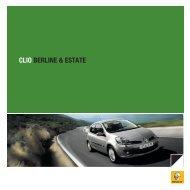 CLIO BERLINE & ESTATE - Planète Renault