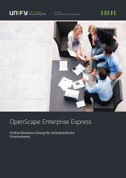 Broschüre   OpenScape Enterprise Express Solution - Unify