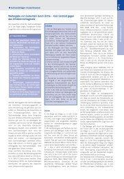 Weitergabe von Gutachten durch Dritte - VBD