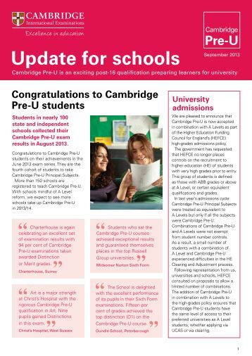 cambridge essays 2013 Cambridge judge business school is located on cambridge university's campus in the heart of cambridge, england, which is less than an hour's train ride from london judge offers a number of degree options to its students, including the mba and executive mba.