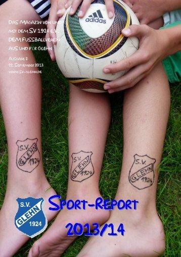 Sport-Report Nr. 2 2013/14 - SV 1924 Glehn eV