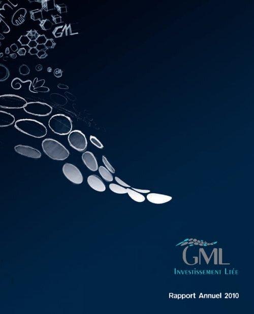 Rapport Annuel 2010 - GML