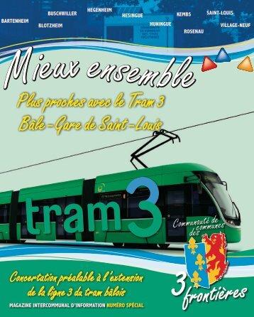Plus proches avec le Tram 3 Bâle - Gare de Saint - Louis