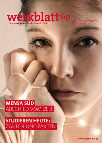 werkblatt 69 - Studentenwerk Berlin