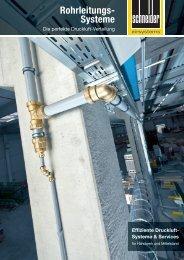Die perfekte Druckluft-Verteilung - Schneider-Airsystems