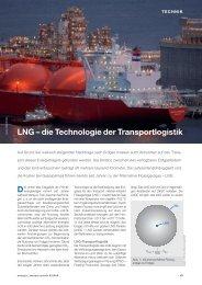 D LNG – die Technologie der Transportlogistik - TGE Gas Engineering