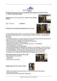 Protokoll der Vollversammlung des Stadtelternrats vom 01.06.2013