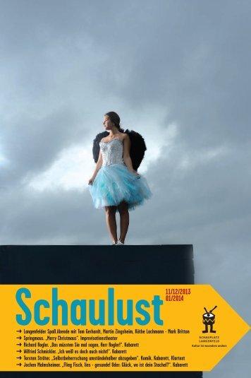 SCHAUPLAN NOVEMBER/DEZEMBER/JANUAR - Schauplatz
