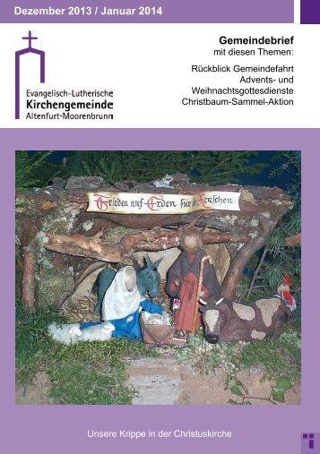Gemeindebrief Dezember 2013 / Januar 2014 PDF-Format, Adobe ...
