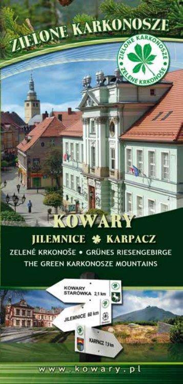 """Zobacz folder """"Zielone Karkonosze"""" [*.pdf] - Kowary"""
