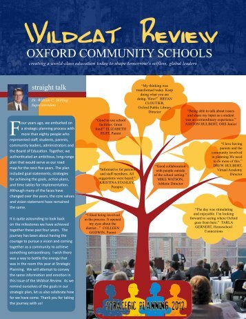 Spring 2012 - Oxford Community Schools