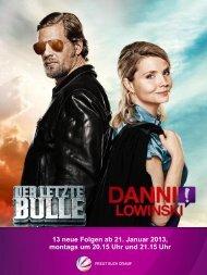 13 neue Folgen ab 21. Januar 2013, montags um 20.15 Uhr ... - Sat.1