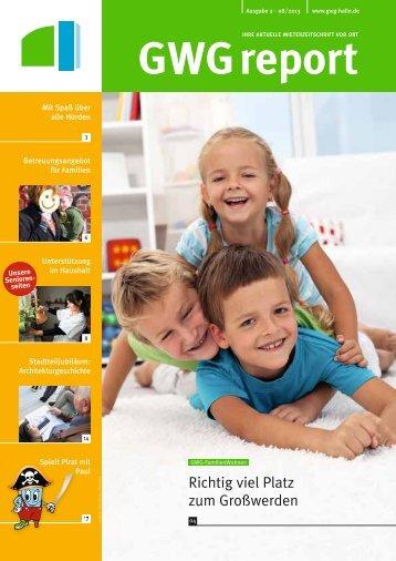 Ausgabe 2 - 08/2013 - GWG Halle