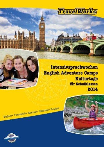 Download Katalog 2014 - Sprachwochen für Schulklassen