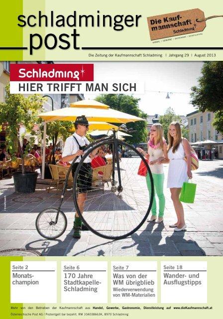 Monats- champion 170 Jahre Stadtkapelle- Schladming Wander ...