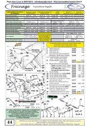 Bouchon réservoir origine pour CITROEN 2cv Dyane Méhari 000734