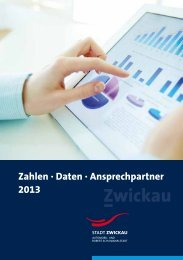 Daten - Fakten - Ansprechpartner (*.pdf, 871 KB) - Stadt Zwickau