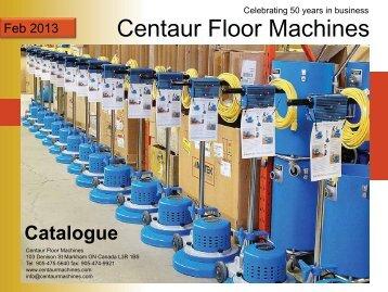 Feb 2013 Centaur Floor Machines - Marko, Inc.