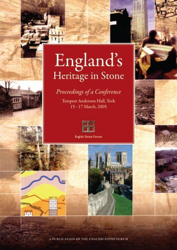 Historical Perspective of Conservation - English Stone Forum