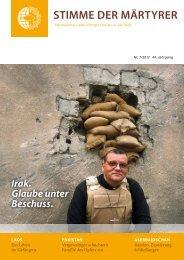 Ausgabe Juli 2012 - HMK - Hilfe für verfolgte Christen