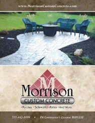 Morrison Custom Concrete 8-Page brochure.qxd - Stamped ...
