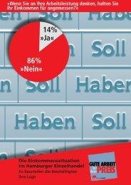 Einkommenssituation im Hamburger Einzelhandel - ver.di Gute Arbeit