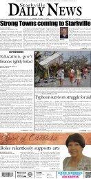 11-11-13 SDN E-Edition.pdf - Starkville Daily News
