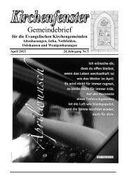 April - Kirche Istha/Oelshausen