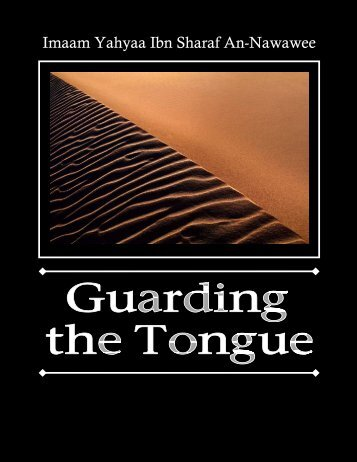 Guarding the Tongue.pdf - Al Quran wa Sunnah [Home of ...