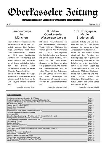 Oberkasseler Zeitung - VdO-Oberkassel