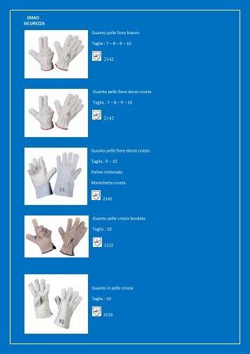 catalogo guanti da lavoro - SMAO